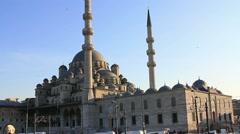 Istanbul, Yeni Cami Stock Footage