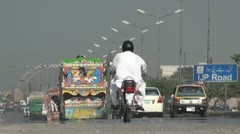 Highway in Pakistan - stock footage