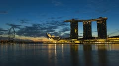 Artscience Museum, Singapore, Asia, T/L Stock Footage