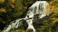 Beaver Brook Falls time lapse, New Hampshire Stock Footage