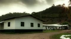 Morning at Honduran Orphanage Time Lapse Stock Footage