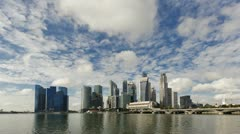 Financial district, Singapore, Asia, T/L Stock Footage