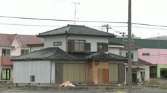 Japan Tsunami 1 Year On - Revisiting Scene Of Destruction Stock Footage