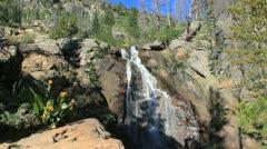 Fish Creek Falls-6 Stock Footage