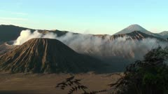 Java volcano.  Bromo Stock Footage