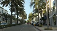 Rodeo Drive, Beverly Hills, California Stock Footage