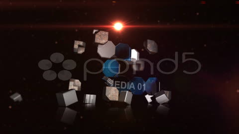 After Effects Project - Pond5 CRAZY METAL BOXES 10834917