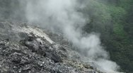 Geysers & volcanic evaporation Stock Footage