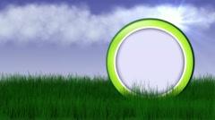 speech balloon nature - stock footage