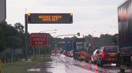 Heavy rain and flooding hits parts of Sydney, Australia Stock Footage