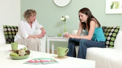 Counselling session - stock footage