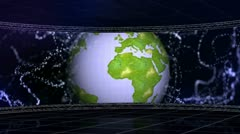 Earth set 2 Stock Footage