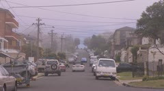 Fog covers parts of Sydney and coast line PT4 - stock footage