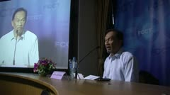 Anwar Ibrahim, Malaysian pro democracy activist human rights dissident 2030 Stock Footage