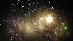 Fireworks 002-3 Stock Footage