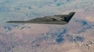 Stock Video Footage of B-2 Bomber