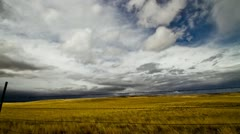 Montana Spring Time Lapse - fixed - stock footage