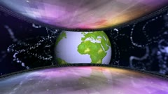Earth set 3 Stock Footage