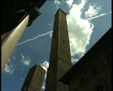 BOLOGNA towers Stock Footage