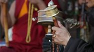 Stock Video Footage of prayer wheel