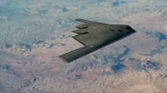 Stealth Bomber - stock footage