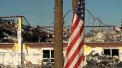 Henryville tornado Stock Footage