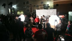 Red Carpet Movie Premiere Celebrities Famous People 4 Stock Footage