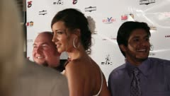 Red Carpet Movie Premiere Celebrities Famous People 9 Stock Footage
