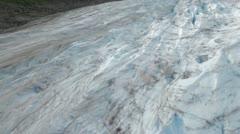 Aerial Glacier - stock footage