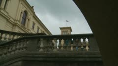 Queen Victoria's Osborne House on Isle Wight (four) Stock Footage