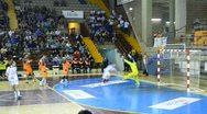 Handball match Stock Footage