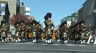 Stock Video Footage of Scottish marching band (1 of 4)