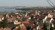 Stock Video Footage of Serbia, Belgrade, Zemun, Danube river