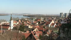 Serbia, Belgrade, Zemun Stock Footage