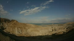 Dead sea view FE 0312 Stock Footage