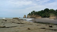Coast of ecuador Stock Footage