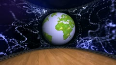 EARTH SET 9mov Stock Footage