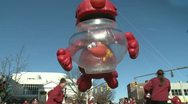 Stock Video Footage of Elmo balloon at parade (2 of 3)
