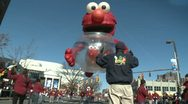 Stock Video Footage of Elmo balloon at parade (1 of 3)