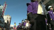 Stock Video Footage of Marching band on the move (1 of 3)