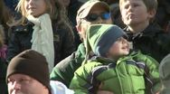 Stock Video Footage of Happy kids at parade