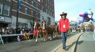 Stock Video Footage of Horses and stage coach at parade