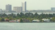 Miami Beach Views Star Island HD Stock Footage