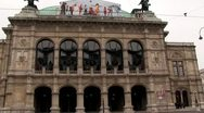 Stock Video Footage of opera in Vienna