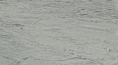 Ice skating in winter Stock Footage