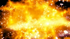 Particle Mass Critical Looping Abstract Animated Background Stock Footage