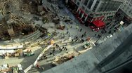 Stock Video Footage of Leicester Square Time Lapse Aerial 2 HD