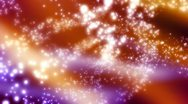 Stock Video Footage of Multicolor Cosmic Particles Abstract Looping Animated Background