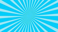 Blue Sunburst Background Animation - stock footage