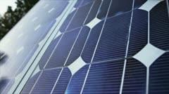 Solar Panel Green Energy Stock Footage